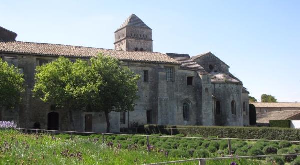 Monastère St-Paul-de-Mausole, St-Remy-de-Provence France